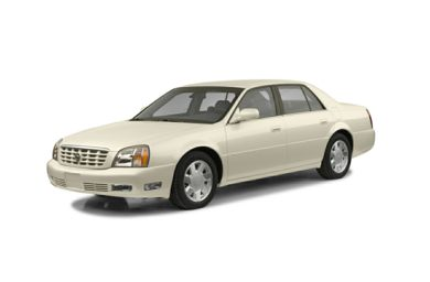 3/4 Front Glamour 2002 Cadillac DeVille