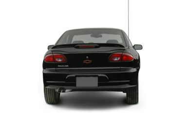 Rear Profile  2002 Chevrolet Cavalier