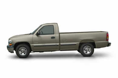 90 Degree Profile 2002 Chevrolet Silverado 1500