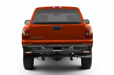 Rear Profile  2002 GMC Sierra 1500