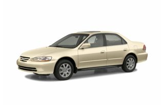3/4 Front Glamour 2002 Honda Accord