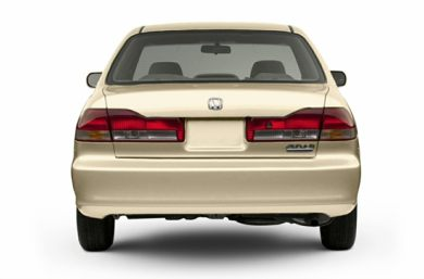 90 Degree Profile 2002 Honda Accord