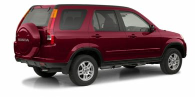 3/4 Rear Glamour  2002 Honda CR-V