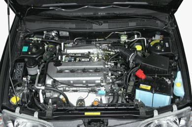 Engine Bay  2002 INFINITI G20