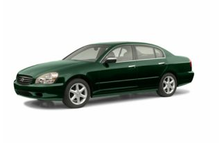 3/4 Front Glamour 2002 Infiniti Q45
