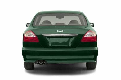 Rear Profile  2002 Infiniti Q45