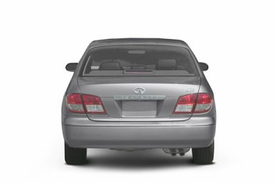 Rear Profile  2002 Infiniti I35