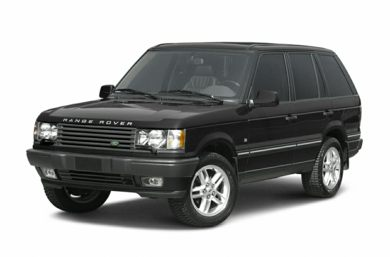 3/4 Front Glamour 2002 Land Rover Range Rover