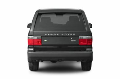 Rear Profile  2002 Land Rover Range Rover