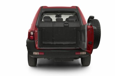 Trunk/Cargo Area/Pickup Box 2002 Land Rover Freelander