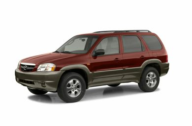 3/4 Front Glamour 2002 Mazda Tribute