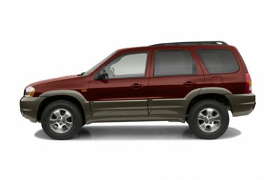 90 Degree Profile 2002 Mazda Tribute