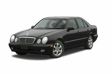 3/4 Front Glamour 2002 Mercedes-Benz E430