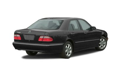 3/4 Rear Glamour  2002 Mercedes-Benz E320