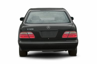 Rear Profile  2002 Mercedes-Benz E55 AMG