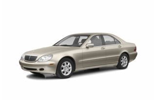 3/4 Front Glamour 2002 Mercedes-Benz S500