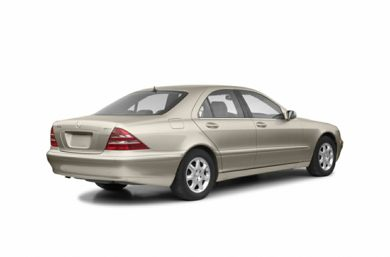 3/4 Rear Glamour  2002 Mercedes-Benz S430