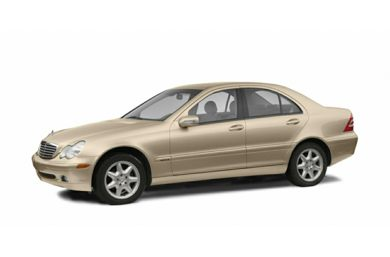 3/4 Front Glamour 2002 Mercedes-Benz C320