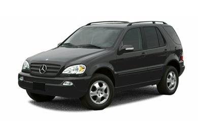 3/4 Front Glamour 2002 Mercedes-Benz ML320