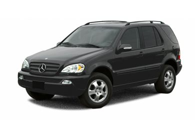 3/4 Front Glamour 2002 Mercedes-Benz ML55 AMG