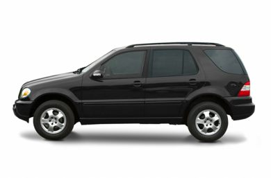 90 Degree Profile 2002 Mercedes-Benz ML55 AMG