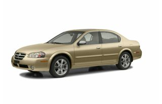 3/4 Front Glamour 2002 Nissan Maxima