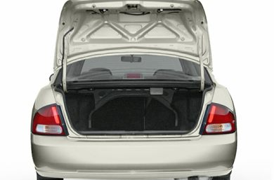 Trunk/Cargo Area/Pickup Box 2002 Nissan Sentra