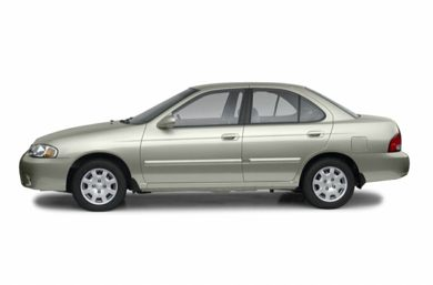 90 Degree Profile 2002 Nissan Sentra