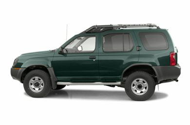 90 Degree Profile 2002 Nissan Xterra