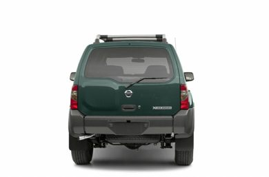 Rear Profile  2002 Nissan Xterra