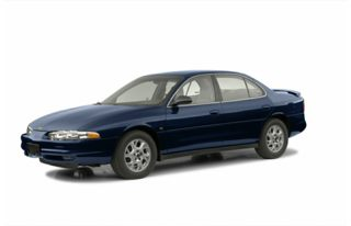 3/4 Front Glamour 2002 Oldsmobile Intrigue