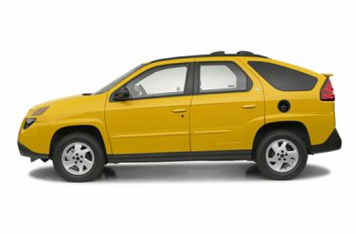90 Degree Profile 2002 Pontiac Aztek