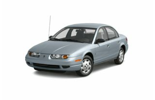 3/4 Front Glamour 2002 Saturn S-Series