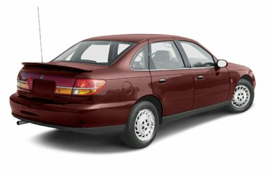 3/4 Rear Glamour  2002 Saturn L-Series