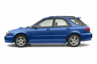 90 Degree Profile 2002 Subaru Impreza WRX