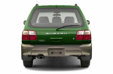 Rear Profile  2002 Subaru Forester