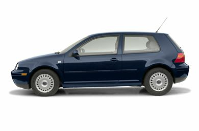 90 Degree Profile 2002 Volkswagen Golf