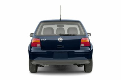 Rear Profile  2002 Volkswagen Golf