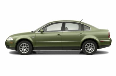 90 Degree Profile 2002 Volkswagen Passat