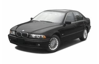 3/4 Front Glamour 2003 BMW 525