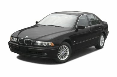 3/4 Front Glamour 2003 BMW 530