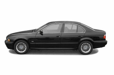 90 Degree Profile 2003 BMW 540