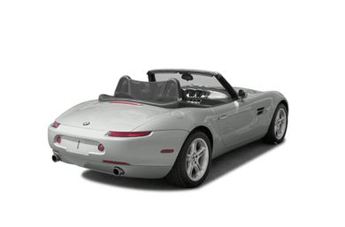 3/4 Rear Glamour  2003 BMW Z8
