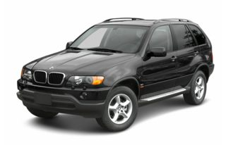 3/4 Front Glamour 2003 BMW X5