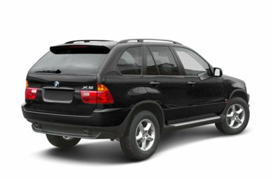 3/4 Rear Glamour  2003 BMW X5