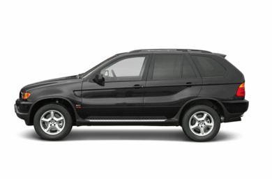 90 Degree Profile 2003 BMW X5