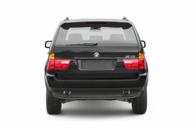 Rear Profile  2003 BMW X5