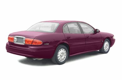 3/4 Rear Glamour  2003 Buick LeSabre