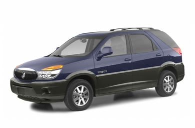 3/4 Front Glamour 2003 Buick Rendezvous