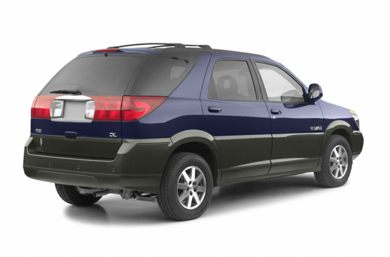 3/4 Rear Glamour  2003 Buick Rendezvous